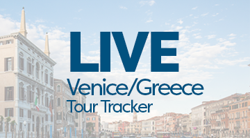 LIVE Tracking of Venice Greece Trip!